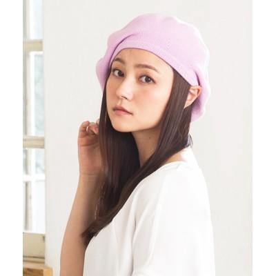 QUEENHEAD / ゆったり コットンベレー帽 WOMEN 帽子 > ハンチング/ベレー帽