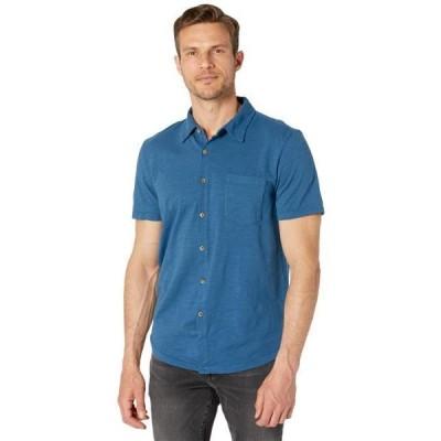 メンズ シャツ トップス Zuma Short Sleeve Polo Slub Jersey