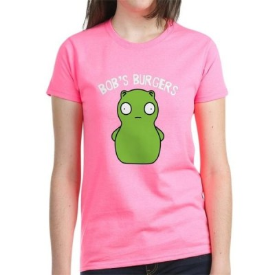 レディース 衣類 トップス CafePress - Bob's Burgers Kuchi Kopi Women's Dark T Shirt - Women's Dark T-Shirt グラフィックティー