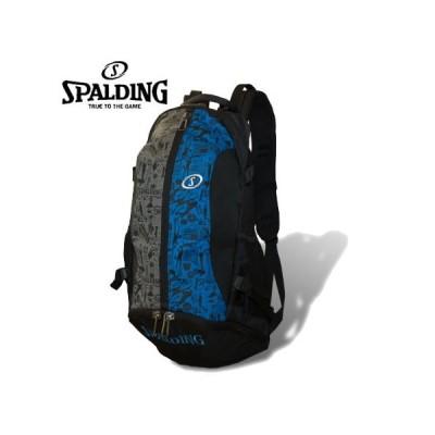 スポルディング SPALDING ケイジャー デイバッグ グラフィティブルー 40-007GB バスケットボール リュック/バックパック 移動 部活 練習 バスケ用 バッグ