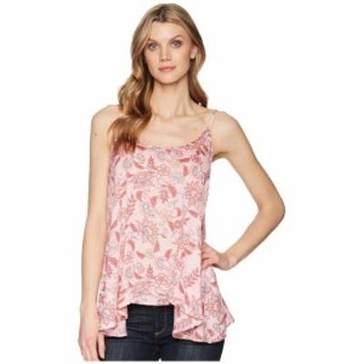 Stetson ステットソン 服 一般 1589 Pink Floral Herringbone Print Cami
