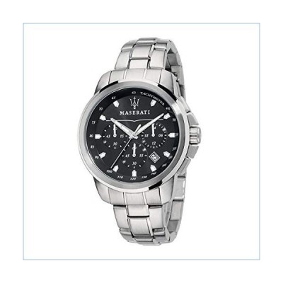 Maserati Mens Successo? R8873621001 Quartz Silver Stainless Steel Bracelet Watch並行輸入品