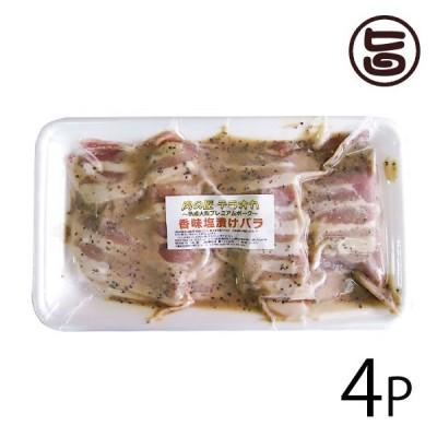 大阪プレミアムポーク 香味塩バラ 350g×4P 肉の匠テラオカ 大阪 人気 肉 専門店 味付き肉 焼くだけカンタン 条件付き送料無料
