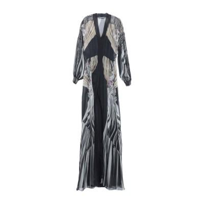 アルベルタ フェレッティ ALBERTA FERRETTI ロングワンピース&ドレス ブラック 40 シルク 100% / ナイロン / レーヨン