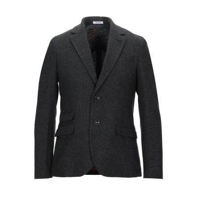 OFFICINA 36 テーラードジャケット ブラック 52 コットン 60% / ポリエステル 40% テーラードジャケット