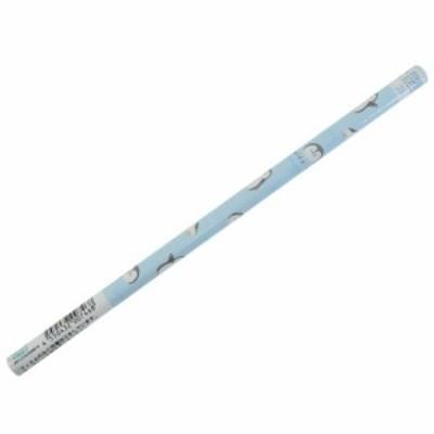 鉛筆 ふわっとジューシー 抗菌 丸軸 えんぴつ 2B ペンギン 女の子向け 小学生 中学生 グッズ メール便可