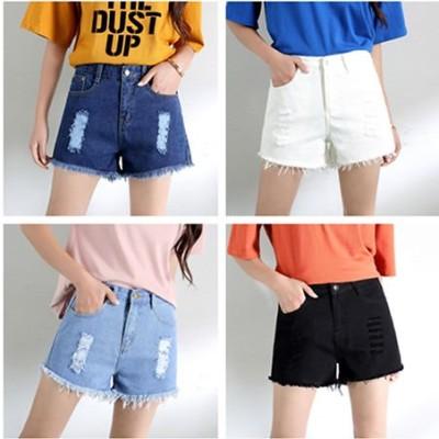 2020韓国ファッション    新品 レディース  ショートパンツ   デニム  カジュアル   着瘦  人気商品 個性 上質  NDK20040701