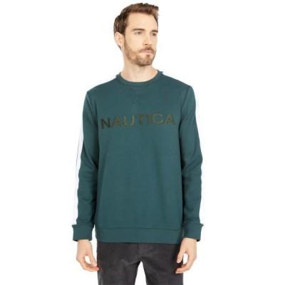 ノーティカ メンズ 服 パーカ/スウェット Logo Fleece Sweatshirt