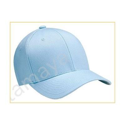 Yupoong Adult Flexfit Wooly Combed-Twill Cap - Carolina Blue, L/XL