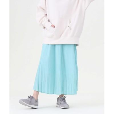 Right-on / 【HONEYSUCKLE ROSE】サテンプリーツスカート WOMEN スカート > スカート