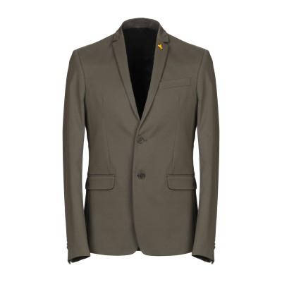 パトリツィア ペペ PATRIZIA PEPE テーラードジャケット ミリタリーグリーン 48 コットン 56% / ポリエステル 40% / ポリ
