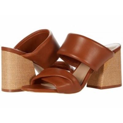 Steve Madden スティーブマデン レディース 女性用 シューズ 靴 ヒール Masterful Heeled Sandal Cognac Leather【送料無料】