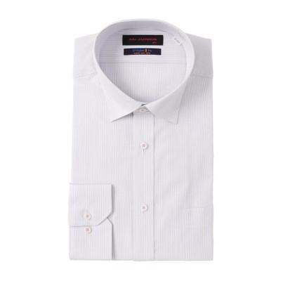 スタイリッシュワイシャツ《長袖》《ワイドカラー》
