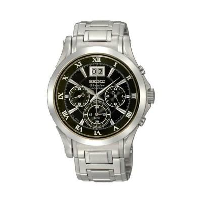 腕時計 セイコー メンズ SPC057 Seiko Men's SPC057 Black Dial Watch
