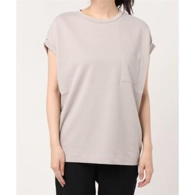tシャツ Tシャツ ドライインレーポケットフレンチスリーブプルオーバー