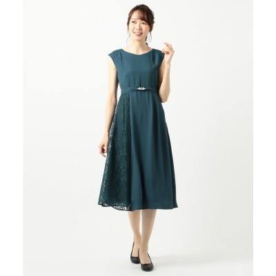 any SiS 【2WAY】サイドレースジュエル ドレス (ブルーグリーン)