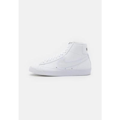 ナイキ レディース 靴 シューズ BLAZER MID '77 - High-top trainers - white/black