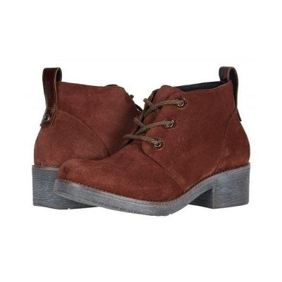 Naot ナオト レディース 女性用 シューズ 靴 ブーツ アンクルブーツ ショート Love - Rust Suede/Luggage Brown Leather