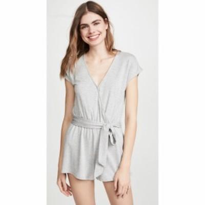 ゼットサプライ Z Supply レディース オールインワン ワンピース・ドレス Claret Surplice Romper Heather Grey