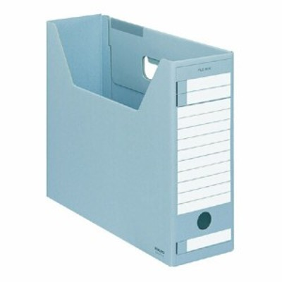 コクヨ ファイルボックス-FS Dタイプ A4 収容幅94ミリ 青 A4-LFD-B