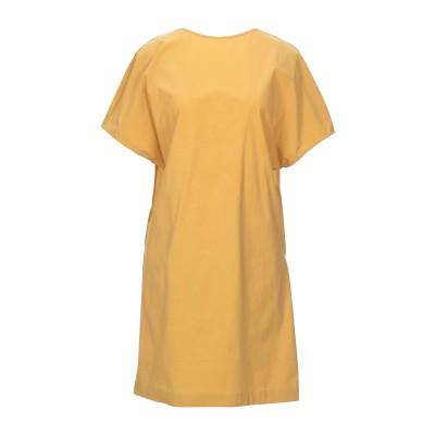リビアナ コンティ LIVIANA CONTI ミニワンピース&ドレス オークル 44 コットン 95% / ポリウレタン 5% ミニワンピース&ド