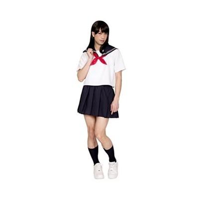 女装MAN 純情セーラーMAN コスプレ 女装 セーラー 制服 ユニセックス