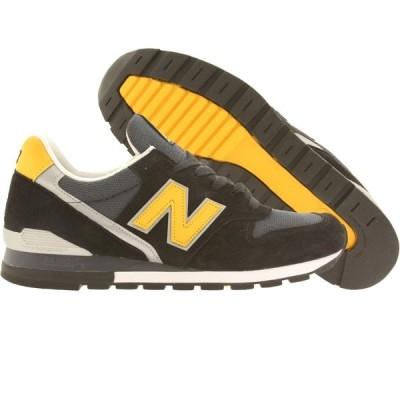ニューバランス New Balance メンズ スニーカー シューズ・靴 996 Connoisseur Ski M996CSMI black/yellow/silver