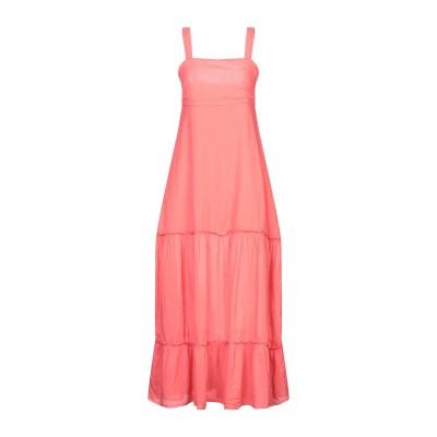 ベルナ BERNA ロングワンピース&ドレス コーラル M コットン 100% ロングワンピース&ドレス