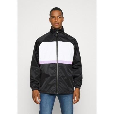 クチュールクラブ ジャケット&ブルゾン メンズ アウター MENS PANELLED SHELL JACKET WITH TOWELLED BADGE - Training jacket - black
