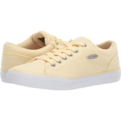 ラグズ Lugz レディース スニーカー シューズ・靴 Regent Lo Linen Yellow/White