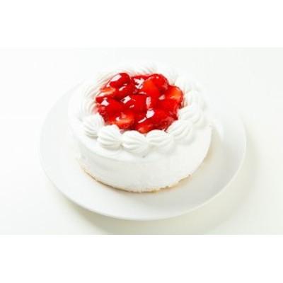 卵不使用アレルギー対応苺生クリームケーキ4号【送料無料】2人分サイズ