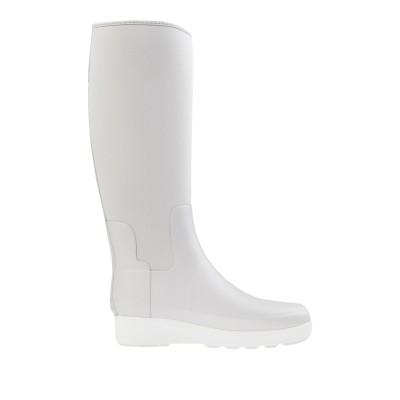 ハンター HUNTER ブーツ ライトグレー 6 ゴム / 紡績繊維 ブーツ