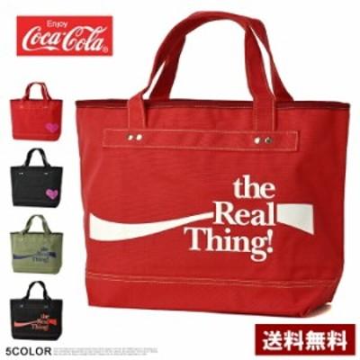 【還元祭クーポン利用できます】コカ・コーラ Coca-Cola トートバッグ リサイクル素材 エコバッグ お買い物【Z0Z】【パケ1】