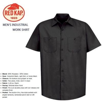 ワークシャツ レッドキャップ RED KAP MEN'S INDUSTRIAL WORK SHIRT #SP24