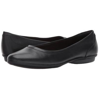 【残り1点!】【サイズ:US7】クラークス Clarks レディース シューズ・靴 スリッポン・フラット Gracelin Mara Black Smooth