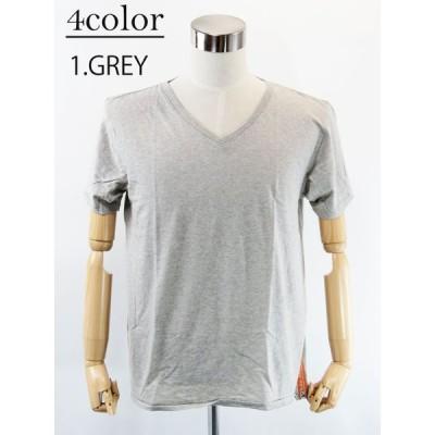 【4color】 Nudie Jeans (ヌーディージーンズ) V-NECK Tee (VネックTシャツ)