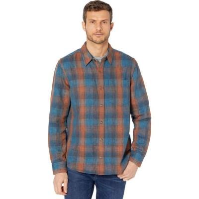 トードアンドコー Toad&Co メンズ トップス Over and Out Reversible Long Sleeve Shirt Ox Blue