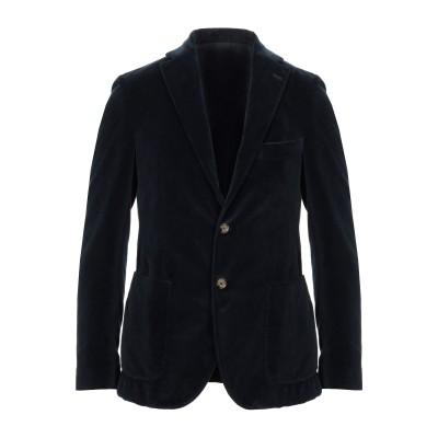 イレブンティ ELEVENTY テーラードジャケット ダークブルー 54 コットン 100% テーラードジャケット