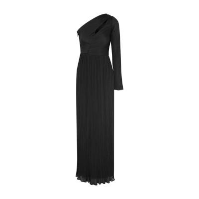 ホルストン・ヘリテージ HALSTON ロングワンピース&ドレス ブラック 0 ポリエステル 100% ロングワンピース&ドレス