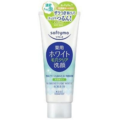 ソフティモ 薬用洗顔フォーム ホワイト スクラブイン 150g