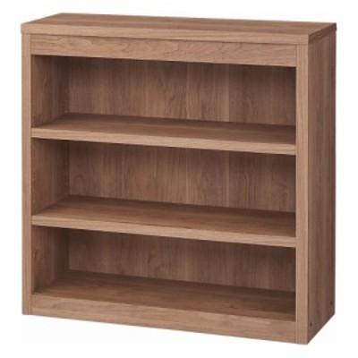 家具 収納 本棚 ラック シェルフ コミックラック 頑丈棚板がっちり書棚(頑丈本棚) ロータイプ 幅80cm 560705