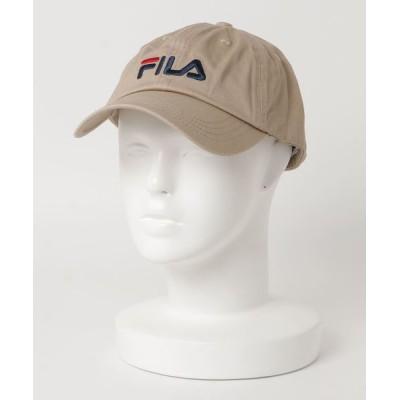 ムラサキスポーツ / FILA/フィラ LOWキャップLINEAR LOGO 185713520 MEN 帽子 > キャップ