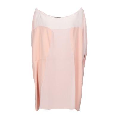 ALESSANDRO LEGORA ミニワンピース&ドレス ピンク 50 ポリエステル 100% ミニワンピース&ドレス
