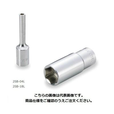 """TONE (トネ) ディープソケット(6角) 2SB-09L 〈差込角 6.35mm(1/4"""")〉"""