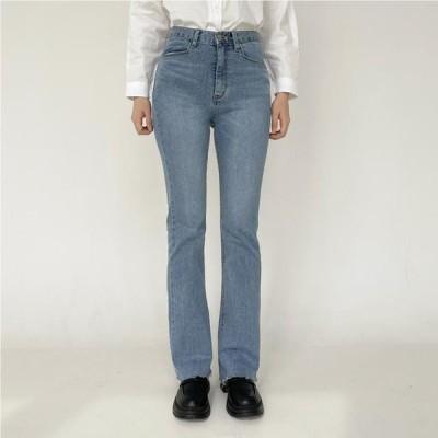 VANILLAMILK レディース ジーンズ Marika semi Flared denim trousers