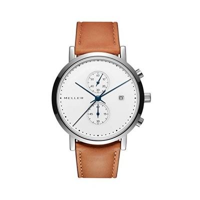 Meller Unisex Adult Analogue Quartz Watch with Stainless Steel Strap 4NN-2BLACK 並行輸入品
