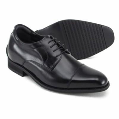 レニカ +6cmヒールアップシューズ ストレートチップ [1608] リーガル コーポレーション さりげなく脚が長くスタイリッシュに決まる 靴 メ