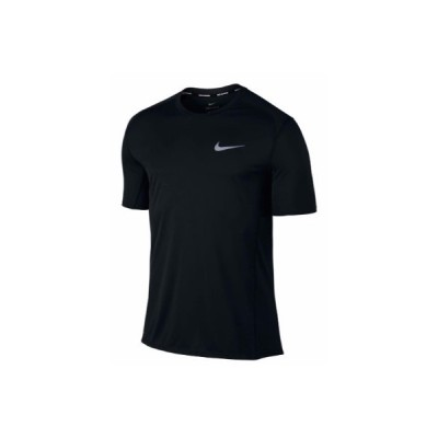 (ナイキ)NIKE マイラーS/Sトップ ウエルネス ランニングシャツ833592−010BLK