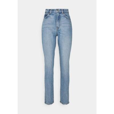 ドクターデニム レディース ファッション NORA - Straight leg jeans - blue jay worn hem