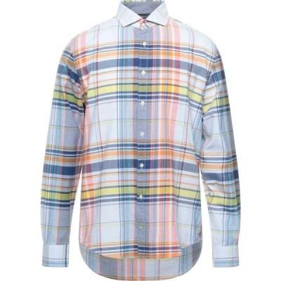 トミー ヒルフィガー TOMMY HILFIGER メンズ シャツ トップス Checked Shirt Sky blue